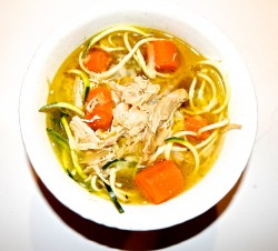 Sicky-Chicky Veggie Soup