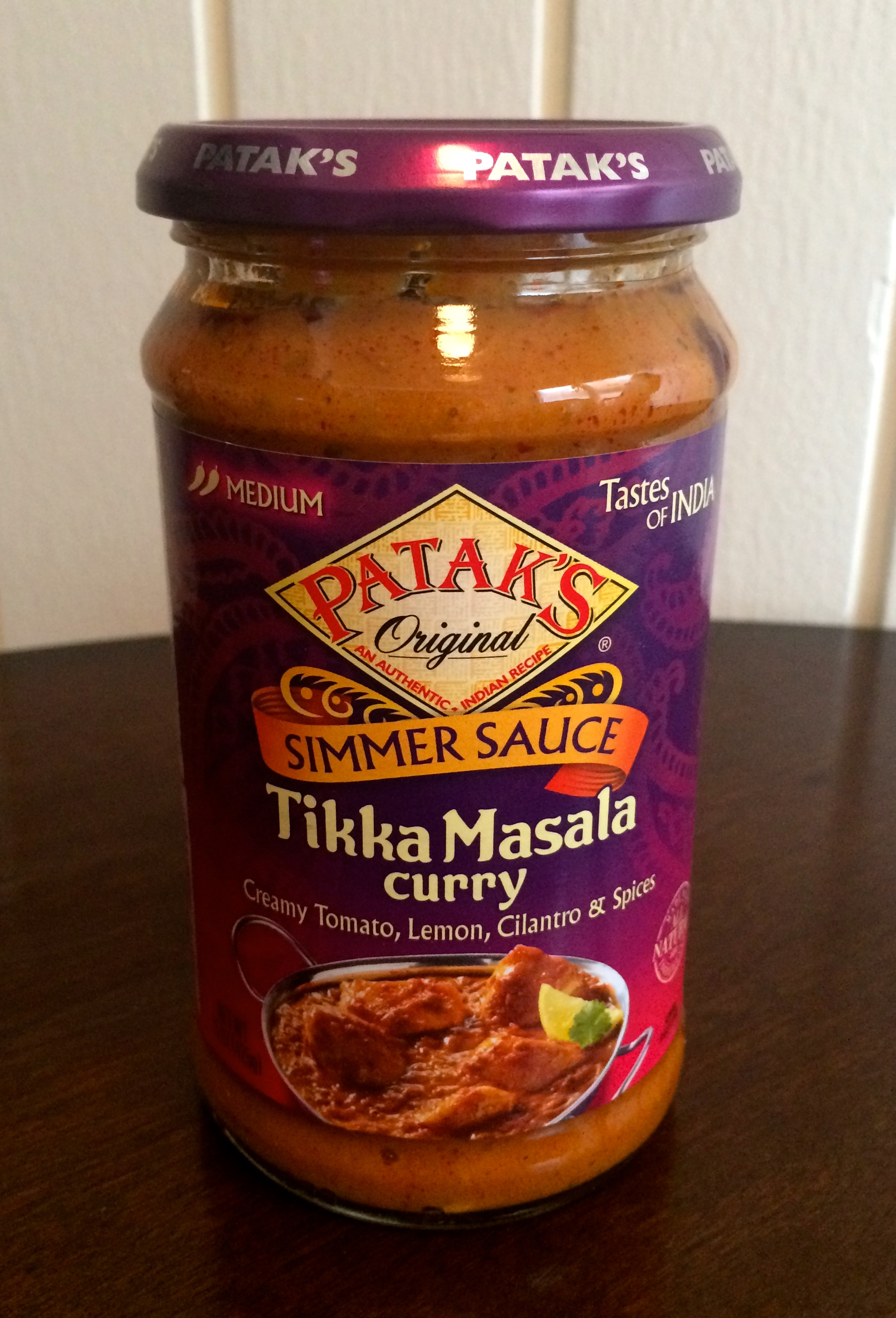 recipe: pataks tikka masala curry sauce [33]